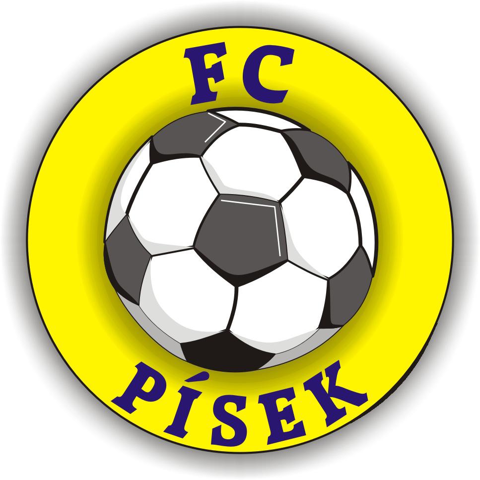 Logo FC Písek barevné 3D